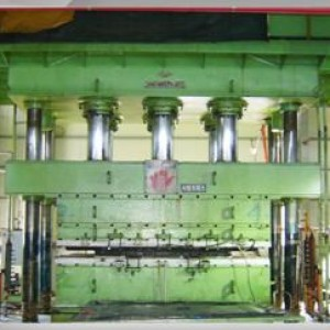 vulcanizing facility - 1500Ton press